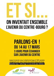 Et si on inventait ensemble l'avenir du Centre-Boug?