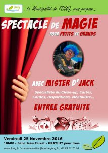 Spectacle - Magie