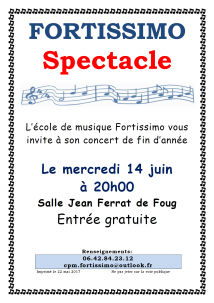 Spectacle Fortissimo