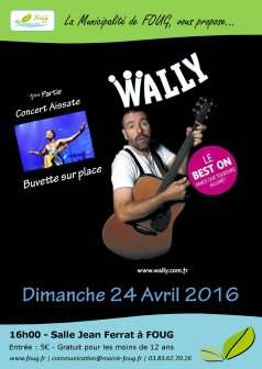 Concert/Spectacle Wally